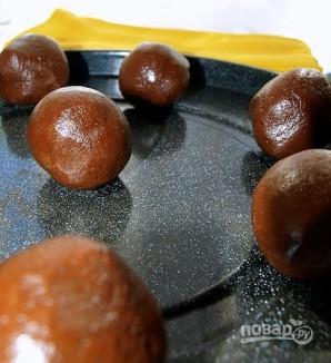 Печенье с карамелью в шоколаде - фото шаг 7