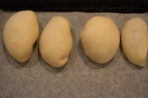 Печеные пирожки из дрожжевого теста - фото шаг 7