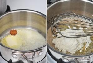 Грибной крем-суп из шампиньонов со сливками - фото шаг 4