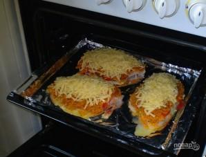 Тилапия с помидорами и сыром - фото шаг 9
