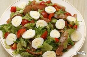 Салат с карпаччо из курицы - фото шаг 6