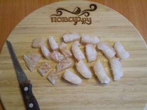 Рыбный суп с плавленым сыром - фото шаг 4