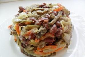 Салат из печенки - фото шаг 4