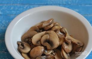 Салат с грибами и картофелем - фото шаг 2