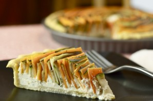 Пирог с морковкой и кабачком - фото шаг 4