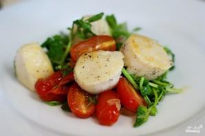 Салат с гребешками - фото шаг 7