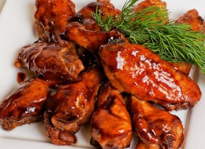 Куриные крылышки в кисло-сладком соусе - фото шаг 5