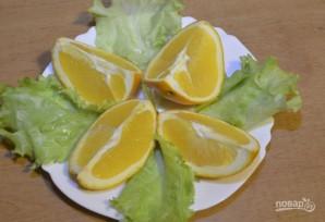 Салат с лососем и сыром - фото шаг 3