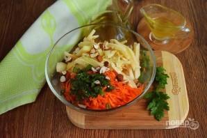 Салат из моркови и яблока - фото шаг 3