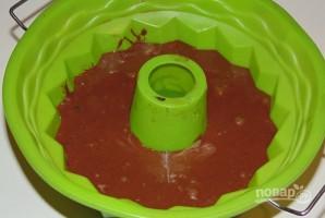 Шоколадно-вишневый кекс - фото шаг 5