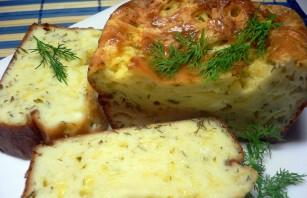 Быстрый сырный пирог - фото шаг 5