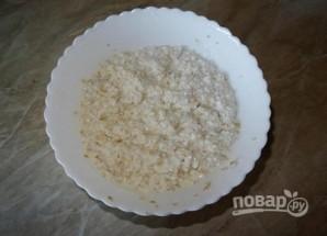 Полезные сырники с отрубями - фото шаг 3