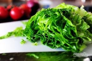 Греческий салат - фото шаг 1