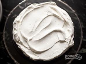Торт с вишней и сливками - фото шаг 5