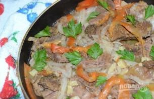 Сковородка с мясом - фото шаг 5