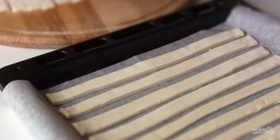 """Торт """"Полено"""" из готового слоеного теста - фото шаг 1"""