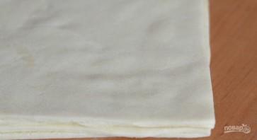 Слоеное тесто без яиц - фото шаг 5