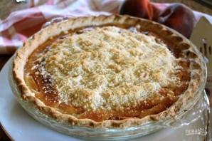 Пирог с персиками под сметаной - фото шаг 7