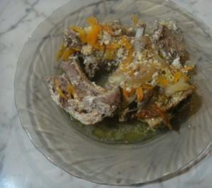 Баранина в сметанном соусе - фото шаг 4