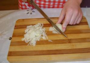 Грибной суп с рисом - фото шаг 4