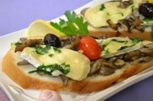 Грибы с сыром на сковороде - фото шаг 4