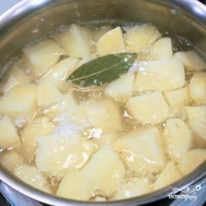 Сырная запеканка с мясом и картофелем - фото шаг 2