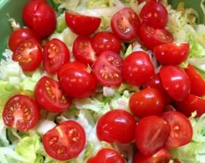 Салат с телятиной и рукколой - фото шаг 3