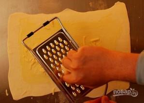 Слойки с сыром и маком - фото шаг 3