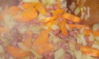 Суп с белой фасолью консервированной - фото шаг 2