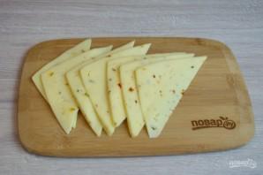 Сырная нарезка к вину - фото шаг 4