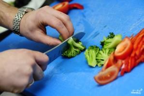 Салат из капусты брокколи - фото шаг 4