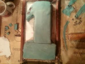 Торт на 1 год - фото шаг 10