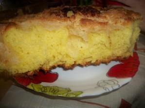 Сахарный пирог со сливками - фото шаг 7