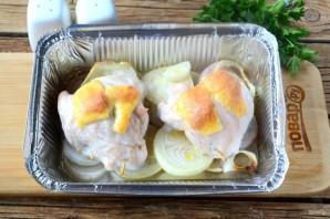 Кармашки из куриного филе с грибами - фото шаг 8
