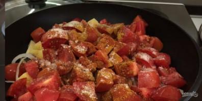 Ужин за 25 минут (овощной карри) - фото шаг 2