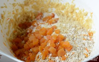 Овсяное печенье с курагой - фото шаг 6