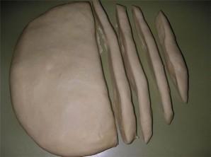 Тесто для лагмана - фото шаг 1