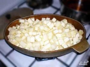 Рагу из баклажанов и кабачков - фото шаг 5