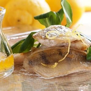Филе белой рыбы в лимонно-масляном соусе - фото шаг 6