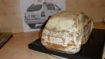 """Торт """"Автомобиль"""" - фото шаг 8"""