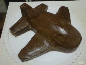 Торт в виде самолета - фото шаг 8