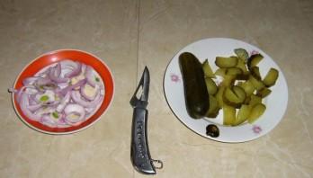 Вкусный салат из морской капусты - фото шаг 3