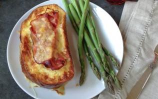 Горячие бутерброды с ветчиной и сыром - фото шаг 8