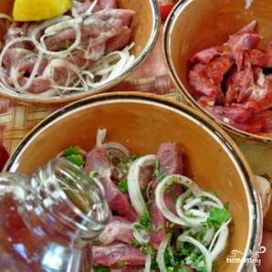 Шашлык из трех видов мяса - фото шаг 3