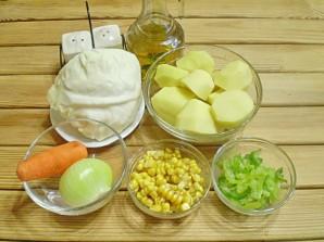 Картофельное рагу с овощами - фото шаг 1