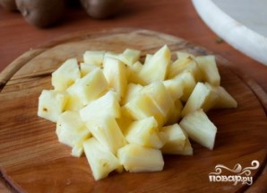 Фруктовый салат с апельсинами - фото шаг 3
