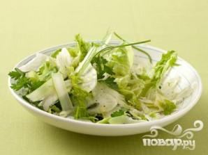 Салат из фенхеля с петрушкой - фото шаг 4