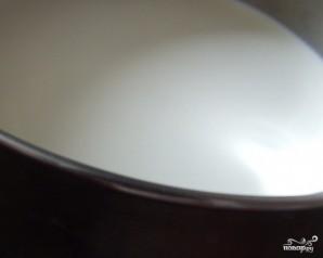 Шоколадная панна-котта - фото шаг 2