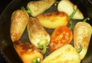 Закатка жареного перца - фото шаг 3