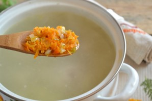 Куриный суп с вермишелью - фото шаг 6